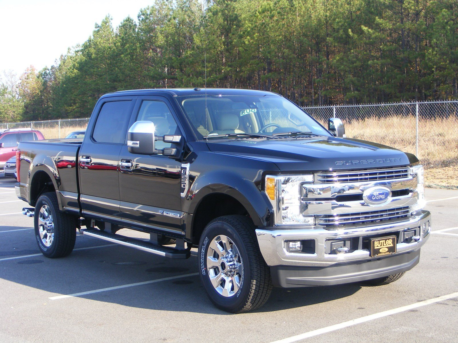 new 2017 ford super duty f 250 srw lariat crew cab pickup in milledgeville f17046 butler ford. Black Bedroom Furniture Sets. Home Design Ideas