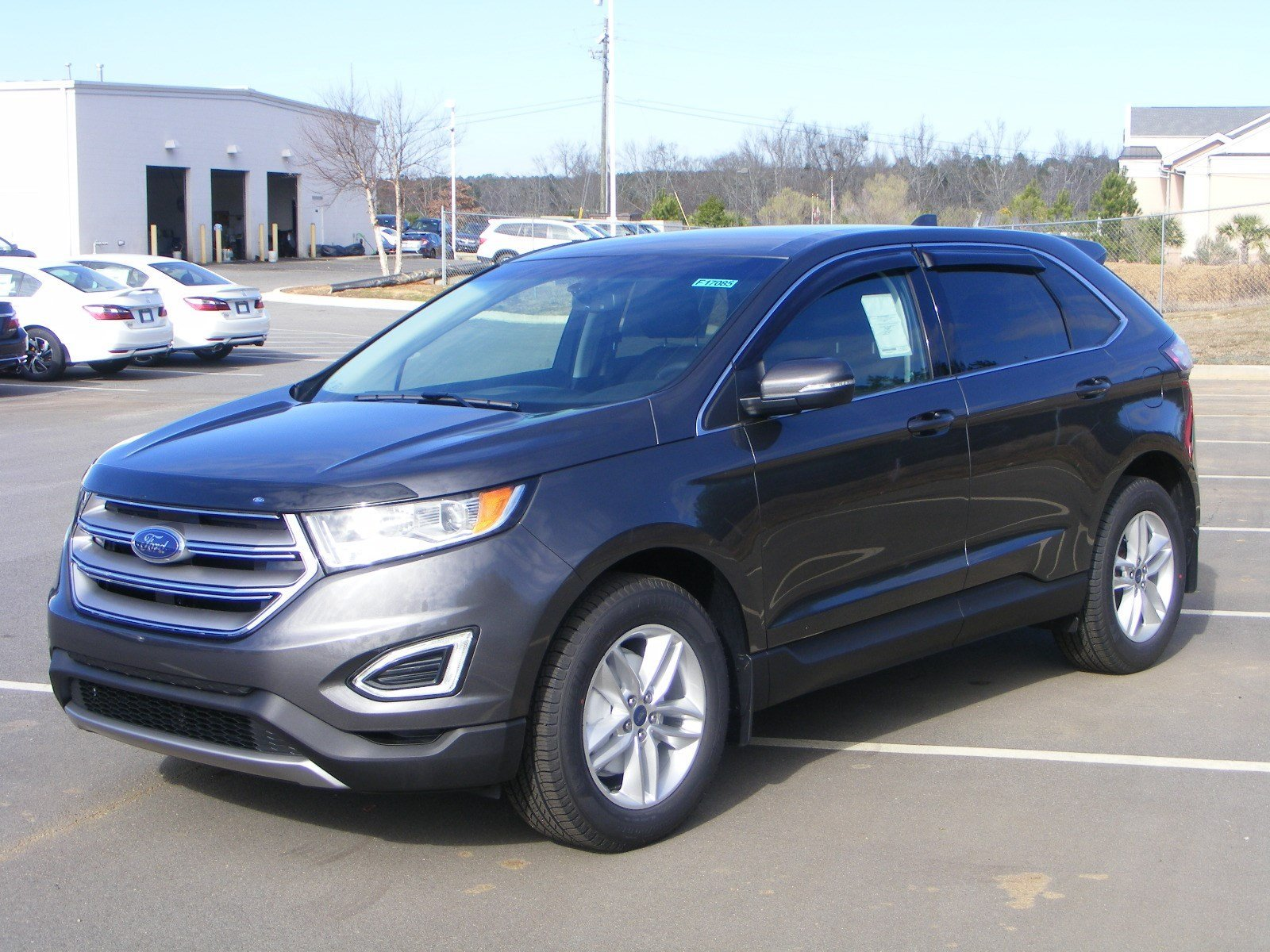 New 2017 Ford Edge SEL Sport Utility in Milledgeville #F17085 | Butler Ford