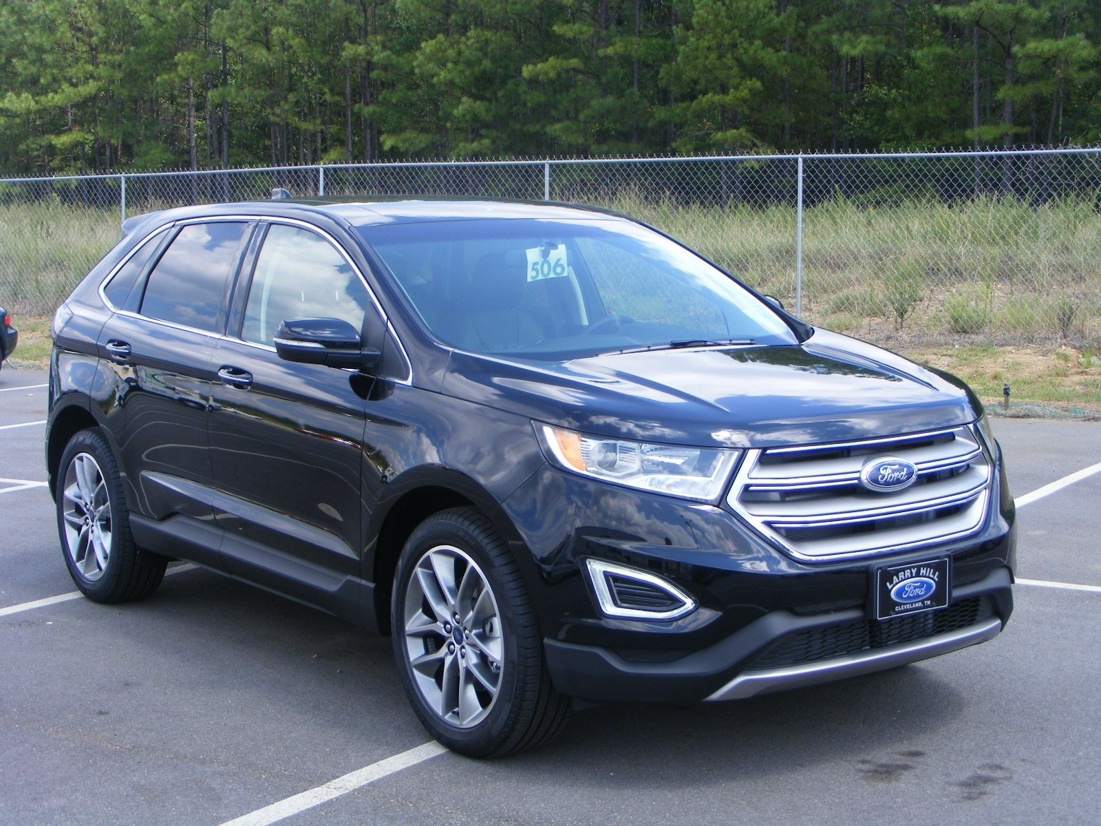 new 2016 ford edge titanium sport utility in milledgeville f16296 butler ford. Black Bedroom Furniture Sets. Home Design Ideas